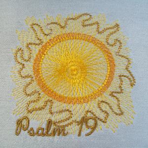 Psalm 19 4x4