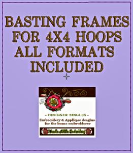 Free Basting Frame 4x4