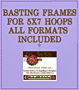 Free Basting Frame 5x7