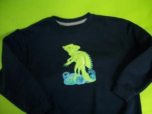 Basilisk Lizard 5x7