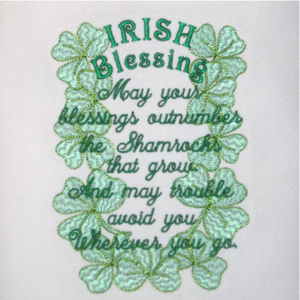 IRISH BLESSING 5X7