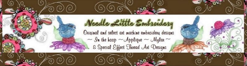 Needle Little Embroidery .com banner