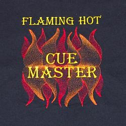 Flaming Hot Q Master 5X7