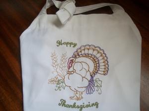 Happy Thanksgiving Turkey 5x7