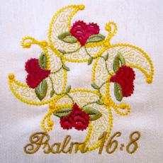 Psalm 16 v  8  4x4
