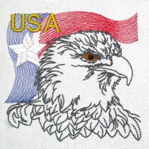 EAGLE USA FLAG 4X4
