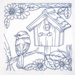 BIRDHOUSE HOME SWEET HOME 1 5x6