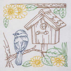 BIRDHOUSE HOME SWEET HOME 1 5x6