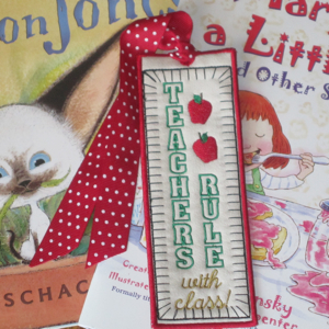 TEACHERS RULE BOOKMARK 5X7