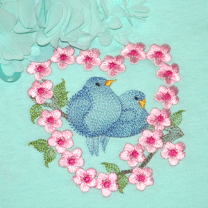 BLUEBIRD LOVEBIRDS mini set 4X4