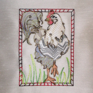 HIGH-STEP ROOSTER