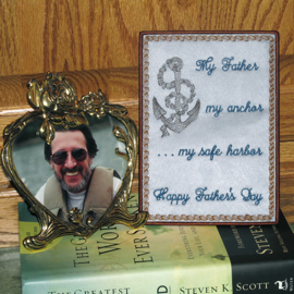 FATHER'S DAY ANCHOR CARD 5X7