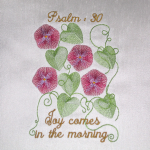 PSALM 3O JOY IN THE MORNING