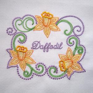 SPRING DAFFODILS FRAME 5X7