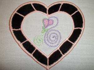 Cutwork Heart