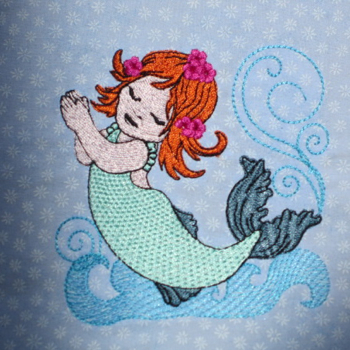 LITTLE MERMAID GIRL 4X4