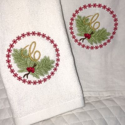 Monogram_embroidery_Christmas__alphabet_ornament_gift_tag__In_the_hoop_designson_towels