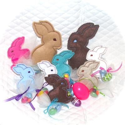 Bunny In the Hoop Treat Softies
