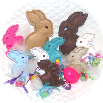 Bunny In the Hoop Treat Softies