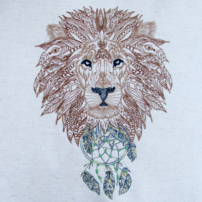 Lion King Zen Wildlife 6x8