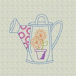 Flower Garden Watering Can