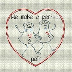 Salt n Pepper Vintage Valentine