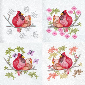 CARDINAL SEASONS MINI SET 4X4