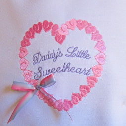 DADDY'S LITTLE SWEETHEART 5X5