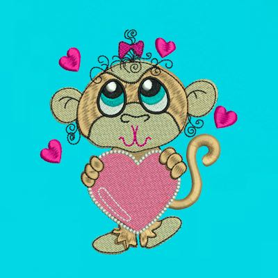 MONKEY LOVE GIRL