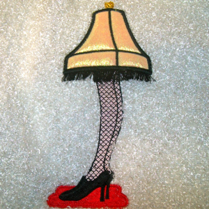 CHRISTMAS GAMS LEG LAMP 5x7