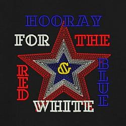 HOORAY for the Red White and Blue